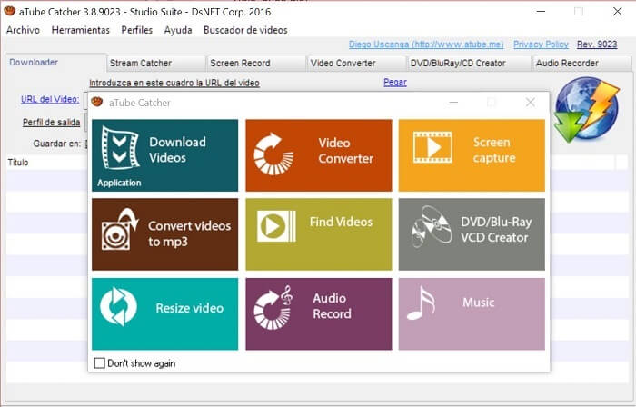 Best Internet Video Downloader aTube Catcher