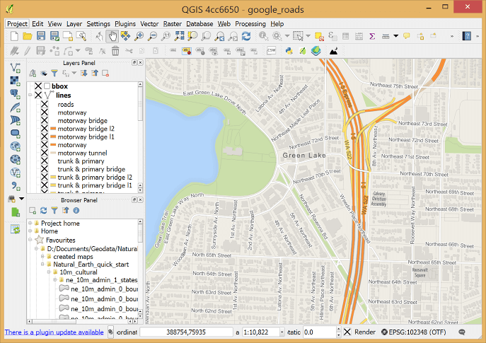 free GIS software for students QGIS