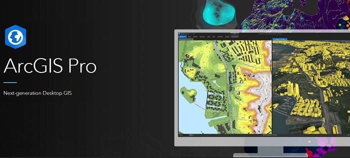 most popular GIS software Esri ArcGIS Pro
