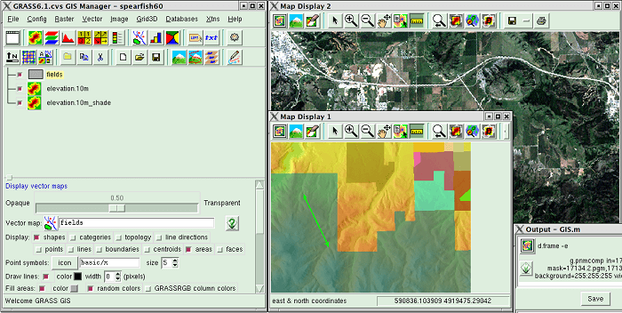 top gis softwares Grass GIS