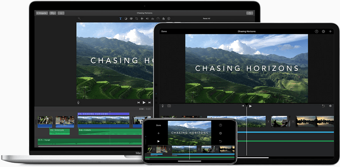 Comparison between iMovie vs Movavi