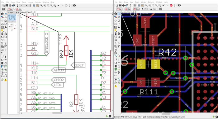 Comparison between Autodesk Eagle Vs KiCad EDA
