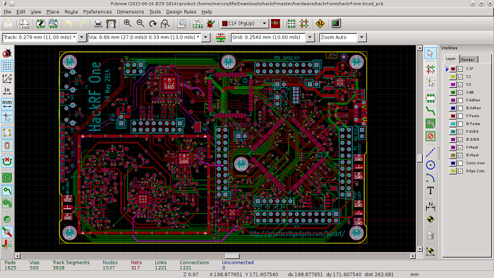 Comparison between KiCad Vs. Altium Designer