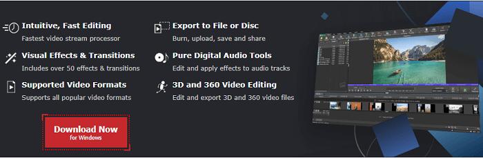 NCH VideoPad editor