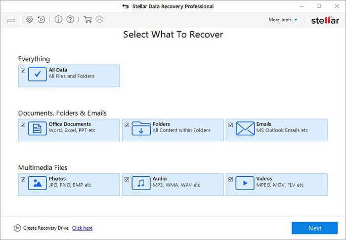 Stellar Data Recovery Professional Review For Windows Process-1