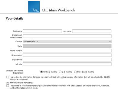 CLC Workbench Pricing 4